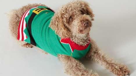 Matching Dog Christmas Sweaters