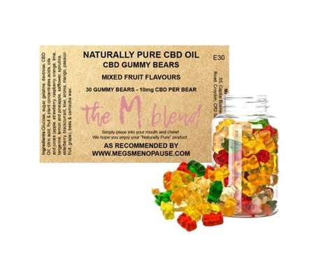 Symptom-Alleviating CBD Gummies