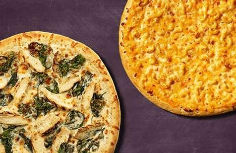 Creamy Alfredo Sauce Pizzas