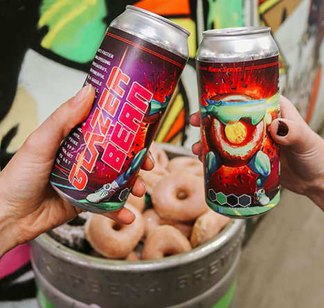 Doughnut-Inspired Craft Beers