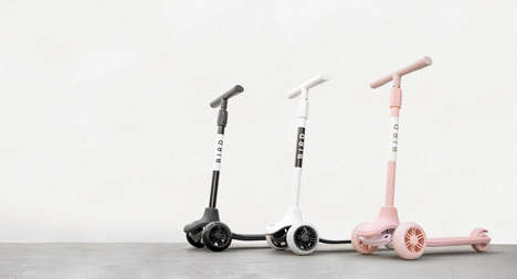 Kid-Friendly Three-Wheel Scooters