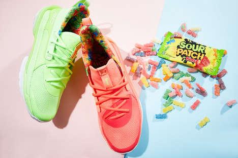 Candy-Themed Basketball Kicks