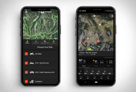 Off-the-Grid Navigation Apps