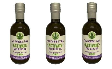 CBD-Enriched Olive Oils