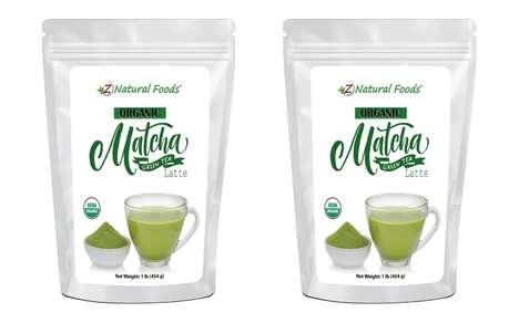Premixed Matcha Latte Powders