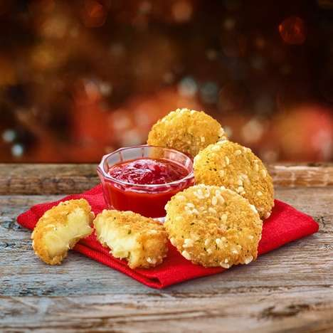 Melted Camembert Cheese Bites