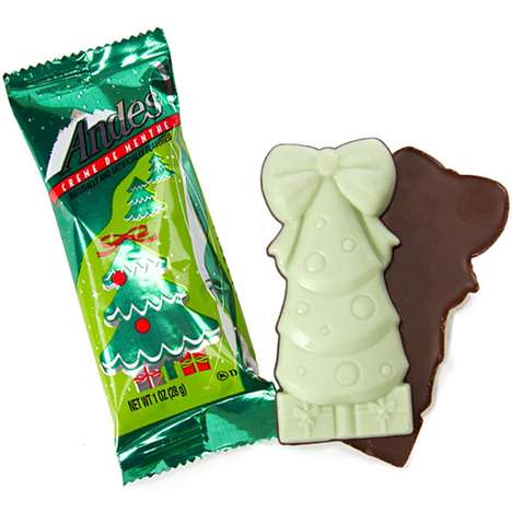 Mint Chocolate Christmas Trees