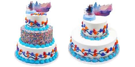 Three-Tier Movie Cakes