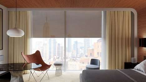 Design-Accommodating Window Coverings