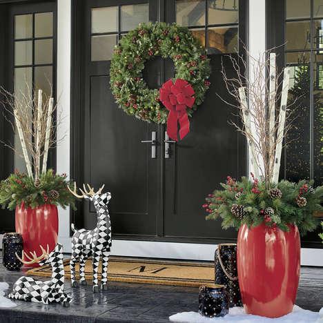 Oversized Seasonal Doorway Decor