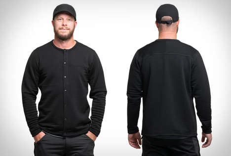 Limited Microfiber Shedding Sweaters