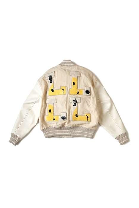 Vintage-Themed Varsity Jackets