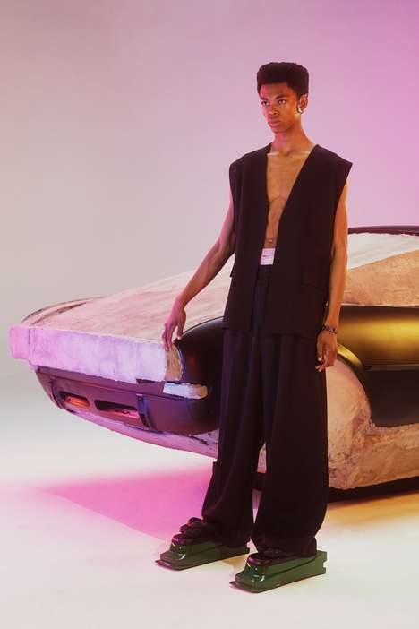 Futuristic Dazy Summer Fashion