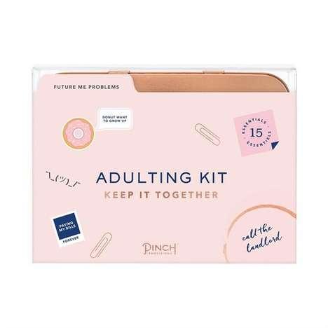 Witty Millennial Life Kits
