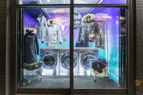 Charitable Laundromat Pop-Ups