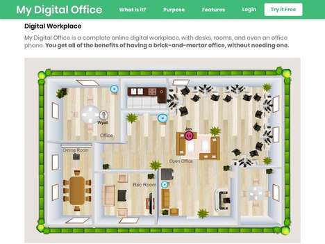 Remote Digital Office Platforms