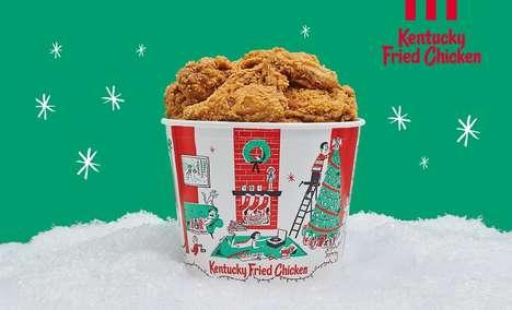 Festive Chicken Buckets