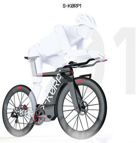 Space-Age Aerodynamic Bikes