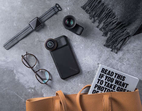 Sliding Smartphone Photography Lenses