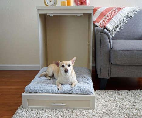 Space-Saving Pet Bed Furniture