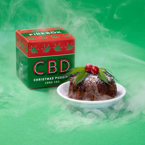 Festive CBD-Infused Puddings
