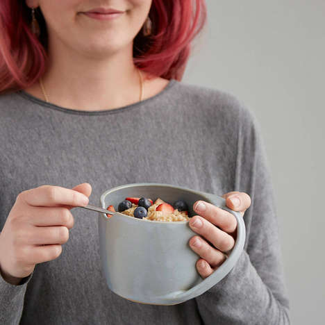 Hand-Warming Cereal Bowls