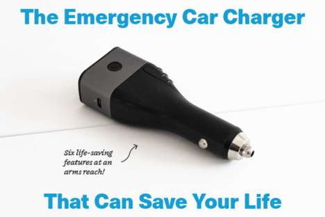 Six-in-One Vehicle Safety Devices