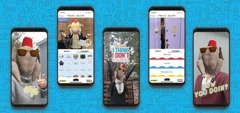 Sitcom-Themed AR Apps