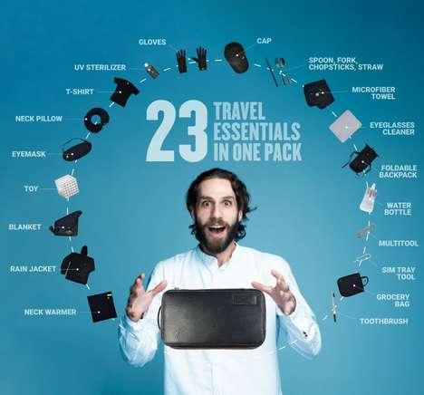 Tiny Travel Essential Cases