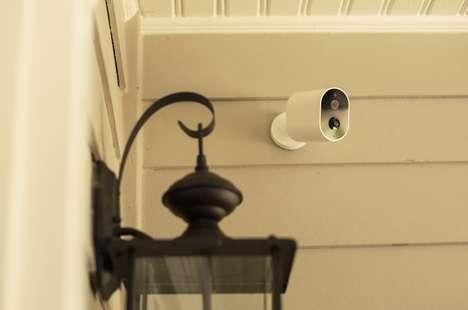 AI-Scanning Security Cameras