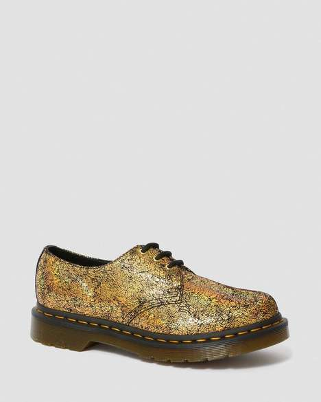 Shimmering Oxford Shoes
