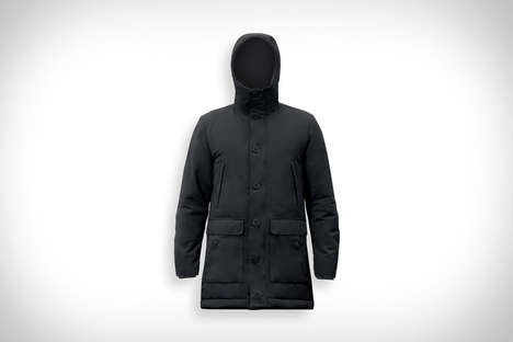 Recycled Material Winter Jackets