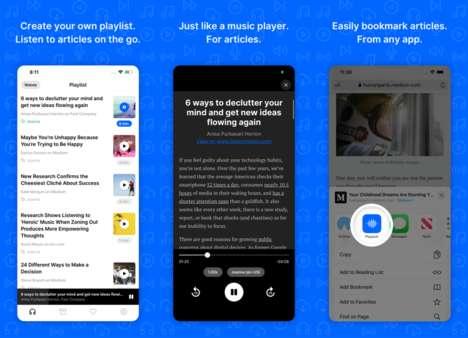 Audio Article-Reading Platforms