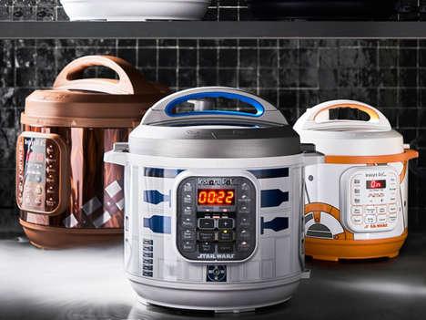 Sci-Fi Multicooker Appliances