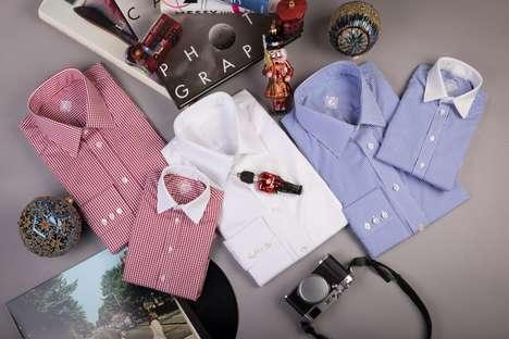 Bespoke Monogrammed Shirts