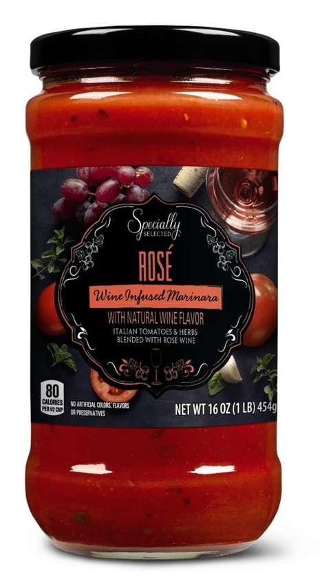 Rosé-Infused Pasta Sauces