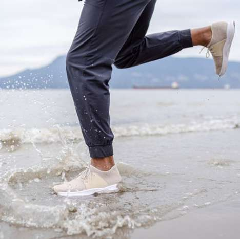 Beach-Inspired Waterproof Sneakers