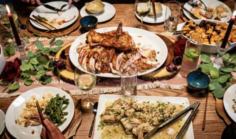 Food Delivery Thanksgiving Ads