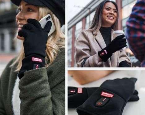 Carbon Fiber Heater Gloves