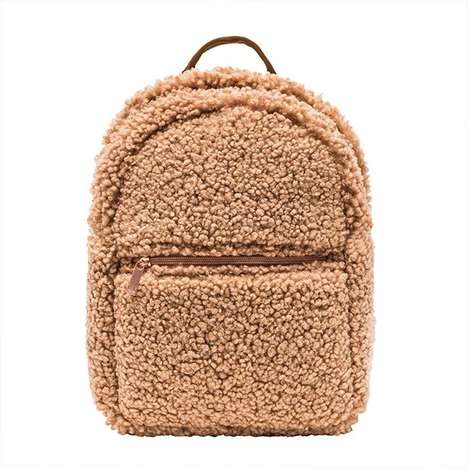 Avant-Garde Fuzzy Backpacks
