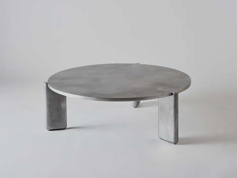 Impeccably Precise Aluminium Tables
