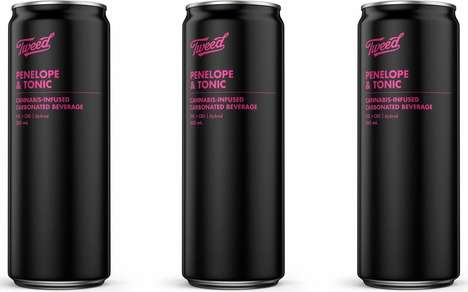 Canned Premixed Cannabis Drinks