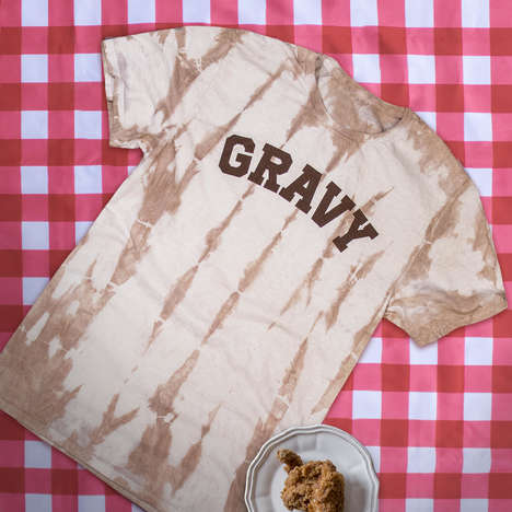 Tie-Dyed Gravy T-Shirts