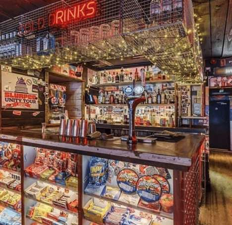 Immersive Convenience Store-Themed Bars
