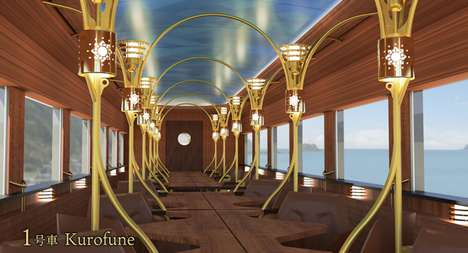 Luxury Japanese Sightseeing Trains