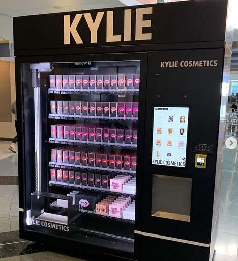 Cosmetics Vending Machine Distribution