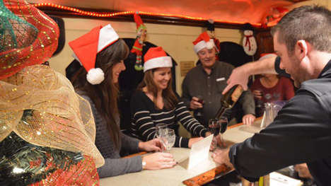 Festive Wine Train Experiences