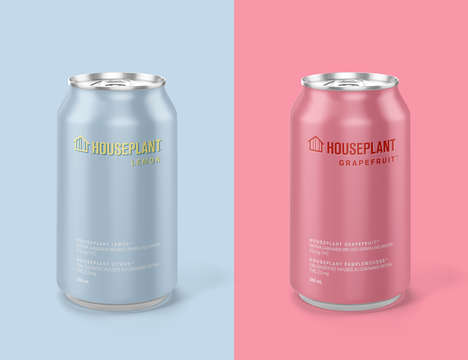 THC-Enhanced Sparkling Water