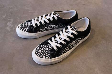 All-Over Printed Monochromatic Shoes