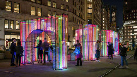 Chromatic Holiday Installations